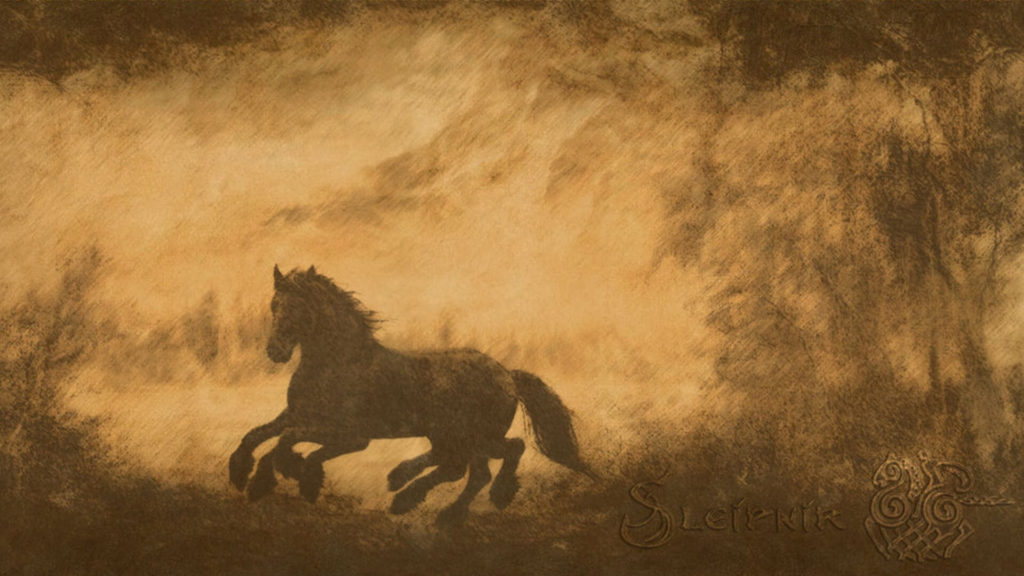 Sleipnir the Eight Legged Horse in Norse Mythology