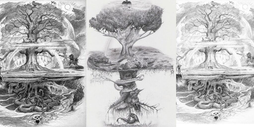 yggdrasil-draw-tree-life-representation