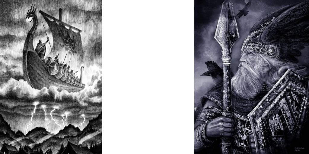 boat-Skidbladnir-odin-Gungnir-spear