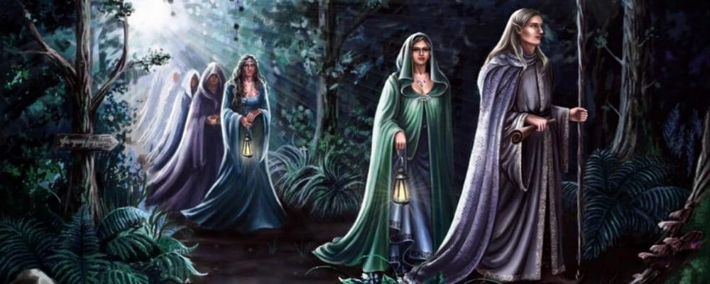Ljosalfar, créatures elfes légers
