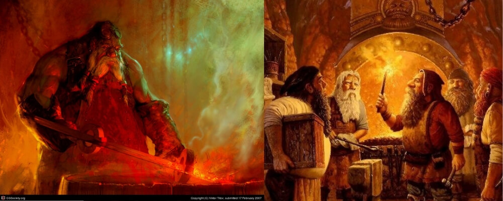 Norse and Germanic mythology dwarves