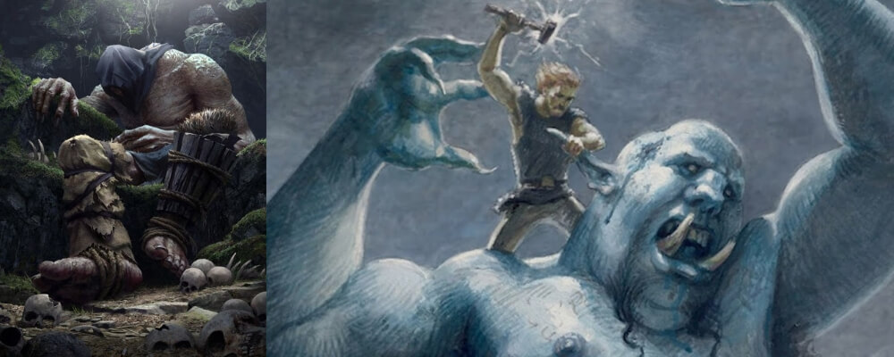 The Jotnar are the giants of Norse mythology