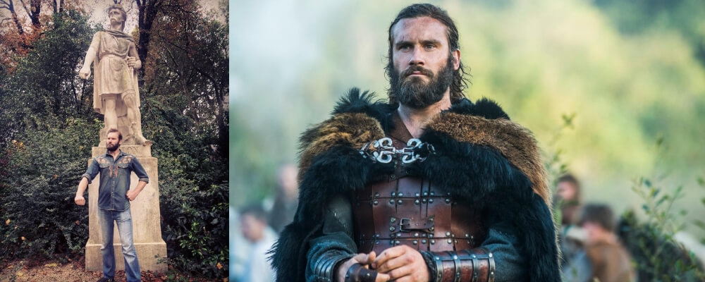 Famous-Viking Warrior-Rollo-of-Normandy