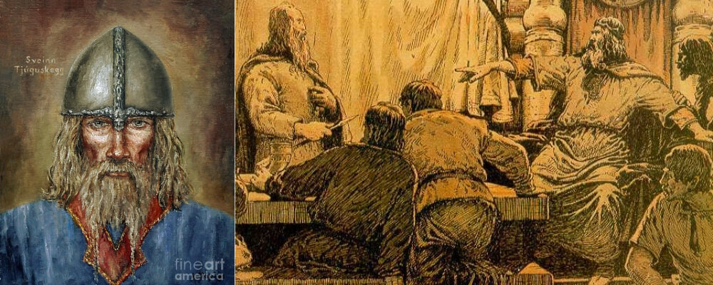 Famous-Viking Warrior-Sweyn-Forkbeard