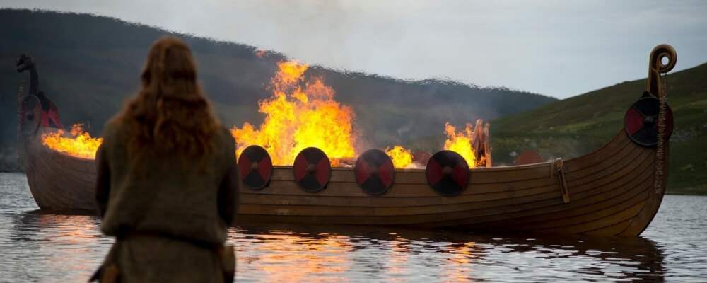 Viking Funeral Rights