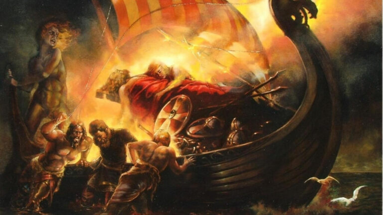 Viking Funerals How did the Vikings Honor their Dead