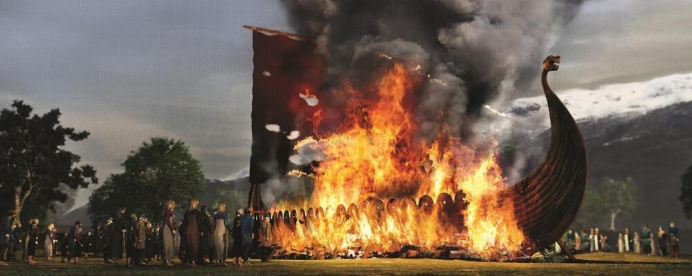 the viking pyre