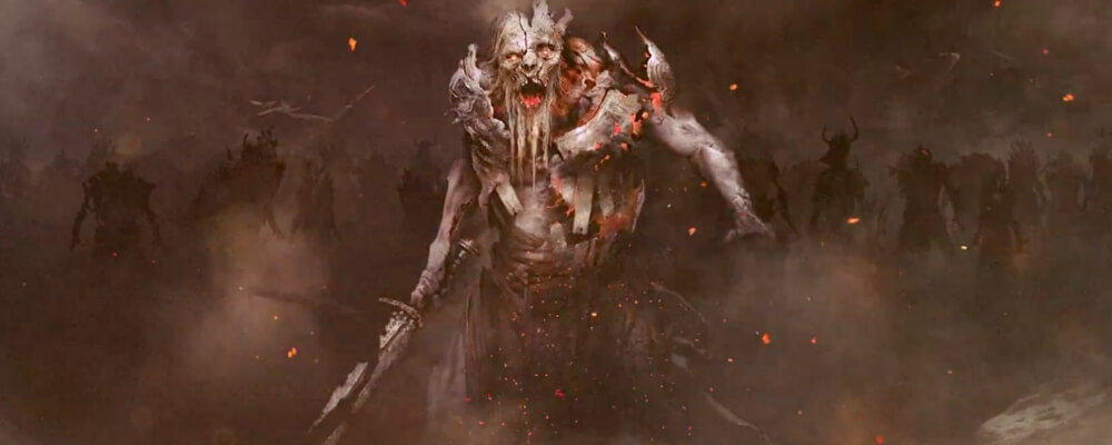the viking zombies called draugr