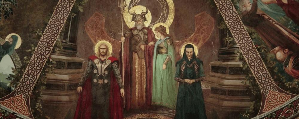 Odin, thor, Sif, Loki