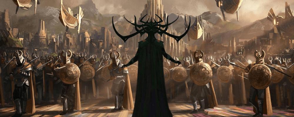 Ragnarok according to marvel