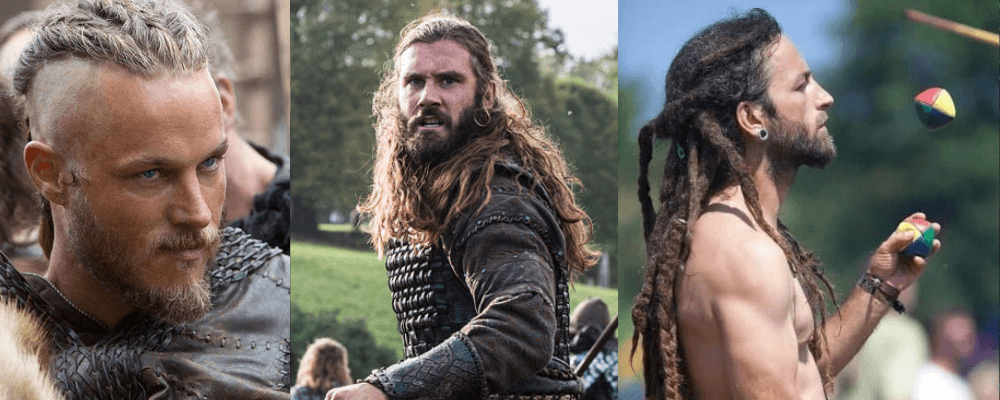 Historic viking hairstyles