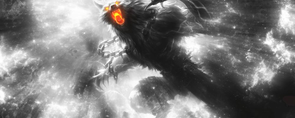 fenrir wolf break the chains