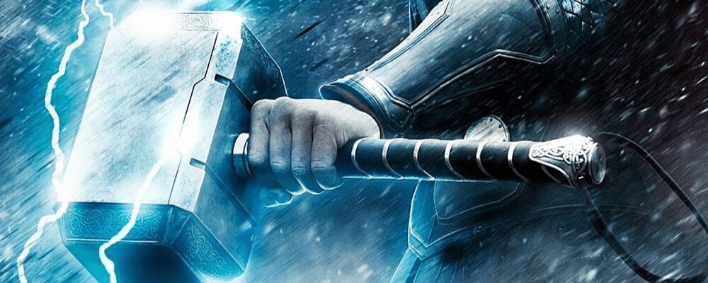 Mjolnir channels lightning, destroys mountains, act like a boomerang for Thor