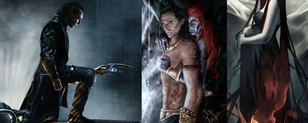 Loki's and Angrboda's children