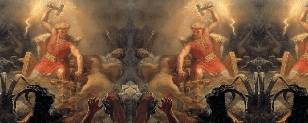Origins of mjolnir norse mythology