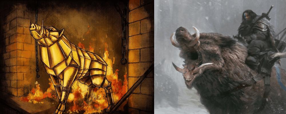 origins of gullinbursti