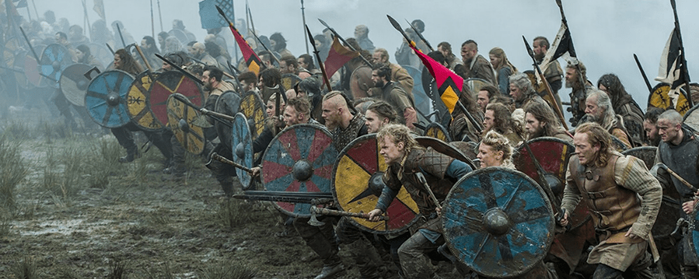 viking and the spear