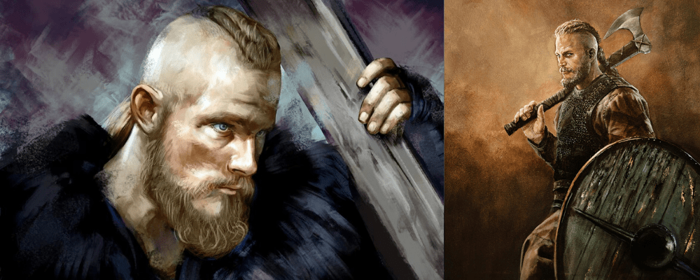 Bjorn son of ragnar and warrior