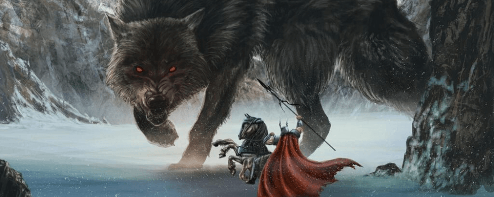 Odin vs Fenrir