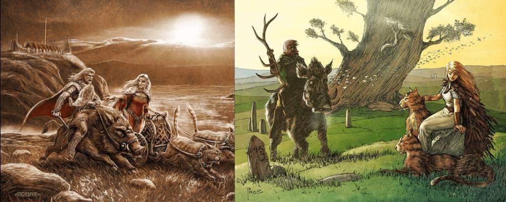 Freyr kingdom and realm