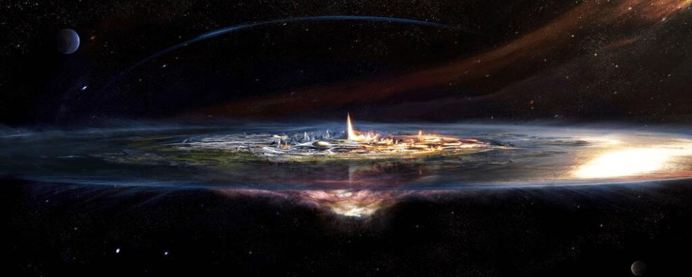 Asgard the enclosure of the Aesir