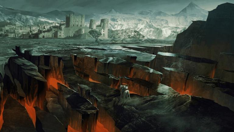 Midgard one of the Nine realms in norse mythology