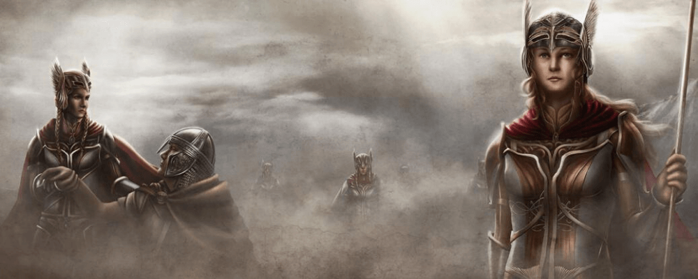 Who were the Valkyries ?