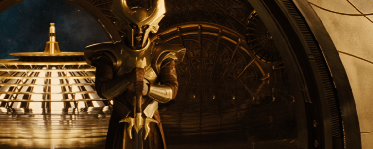 Heimdall the norse god and watchman