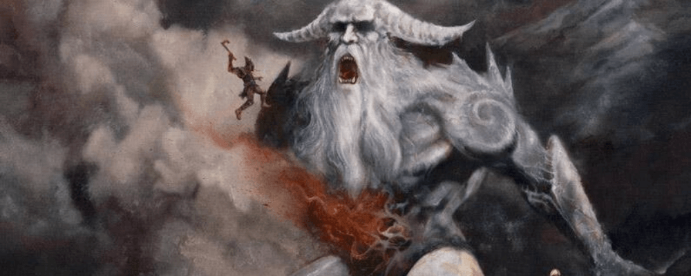 the death of ymir