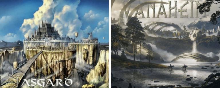 Vanaheim world of vanir Gods