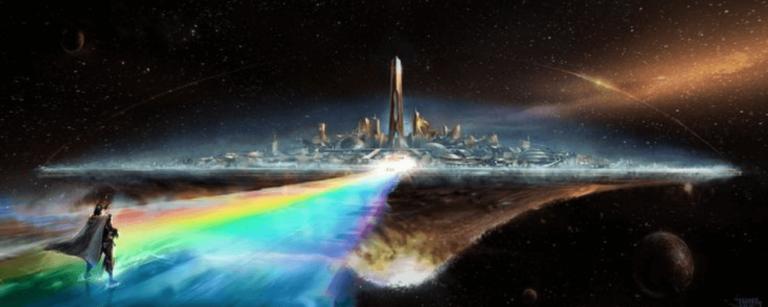 bifrosts bridge rainbow