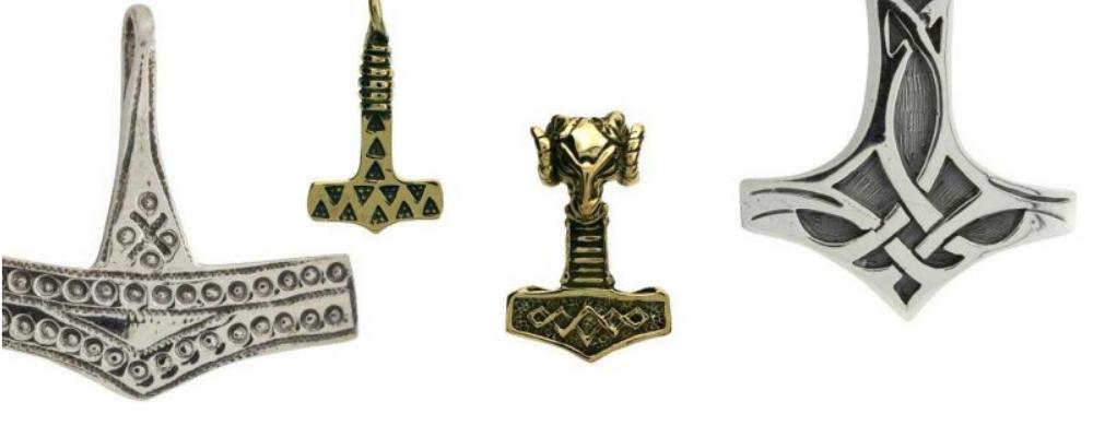 Mjolnir Protective Amulets