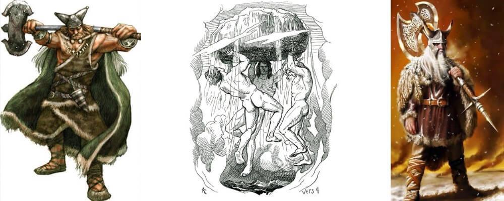 Ve mit seinen Brüdern Odin und Vili