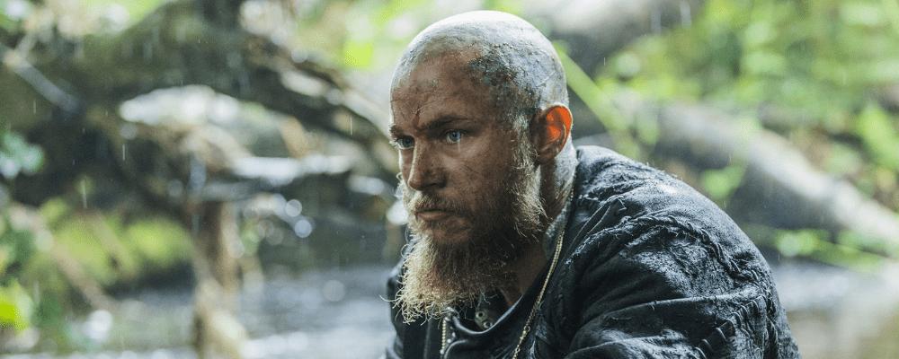 Rasierter Kopf (mit Bart)